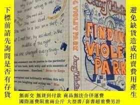 二手書博民逛書店finding罕見violet park 找到紫羅蘭公園...Y200392