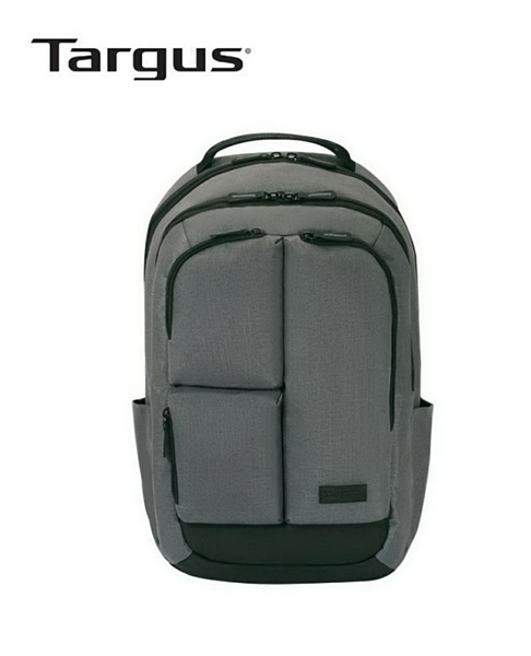 【Targus】Transpire 15.6 吋黑石電腦後背包 灰色 TSB787