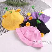 嬰兒帽子寶寶漁夫帽秋冬兒童帽子6-12個月男女寶寶遮陽帽春秋