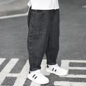 男童牛仔褲 男童牛仔褲春秋裝兒童洋氣韓版休閒外穿長褲男孩帥氣寬鬆秋季褲子
