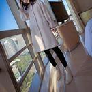 【星品時尚】韓系女裝 毛呢大衣女 夾棉加厚 中長款 寬鬆繭型 過膝 羊毛呢外套 HY181125【HY預購】