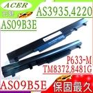 ACER AS09B3E,8481T, 8372G,3935 電池(保固最久)-宏碁 8481TG,P633,P633-M,4INR18/65-2,AS09B58,AS10I5E