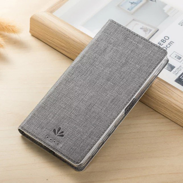 ViLi DMX Sony X Performance (PP10) 簡約時尚智慧休眠側翻手機保護皮套 隱藏磁扣支架插卡手機套 內TPU軟殼