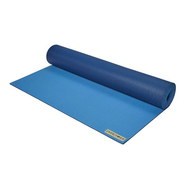 Jade yoga|天然橡膠瑜珈墊|Harmony Mat 173cm - 深藍/淺藍(雙色) Two Tone Blue