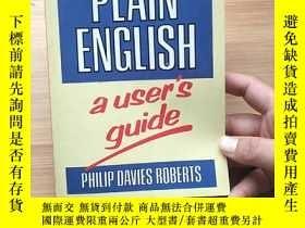 二手書博民逛書店PLAIN罕見ENGLISH auser.s guideY171