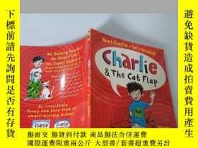 二手書博民逛書店Charlie&the罕見cat flap:hilary mckay 查理和貓翻蓋:希拉裏·麥凱Y200392
