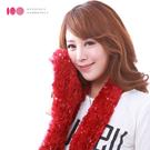 【MIT台灣製】 天使羽毛超柔軟魔術圍巾-酒紅(滿天星光)