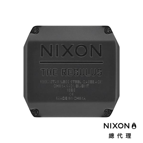 【官方旗艦店】NIXON THE REGULUS 美國特種部隊認證錶 美軍迷彩 雙時區 五年續航 堅固耐操 美式風格