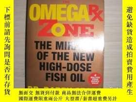 二手書博民逛書店THE罕見OMEGA RX ZONE:The Miracle of the New High-Dose Fish
