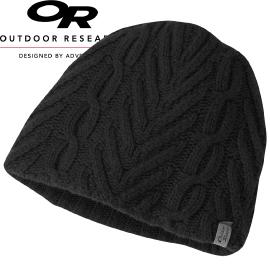 【Outdoor Research 美國 女款WOMEN S JULES BEANIE 透氣保暖壓克力混紡帽 黑】244849CA/針織帽