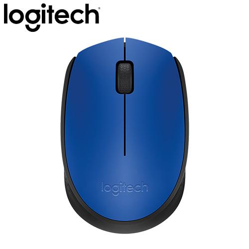 全新 Logitech 羅技 M171 2.4G 無線滑鼠 藍