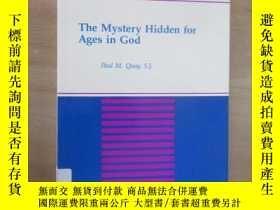 二手書博民逛書店外文書罕見THE MYSTERY HIDDEN FOR AGES IN GOD(共438頁,16開)Y1596
