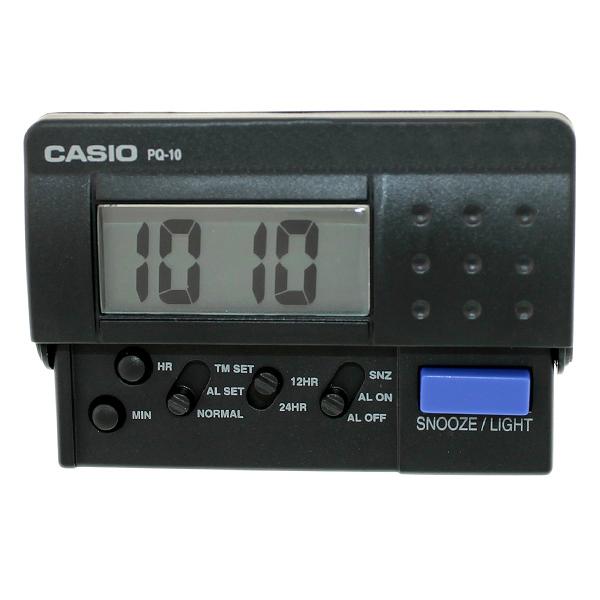 鬧鐘 CASIO蜂鳴響音LED摺疊設計NVCB2