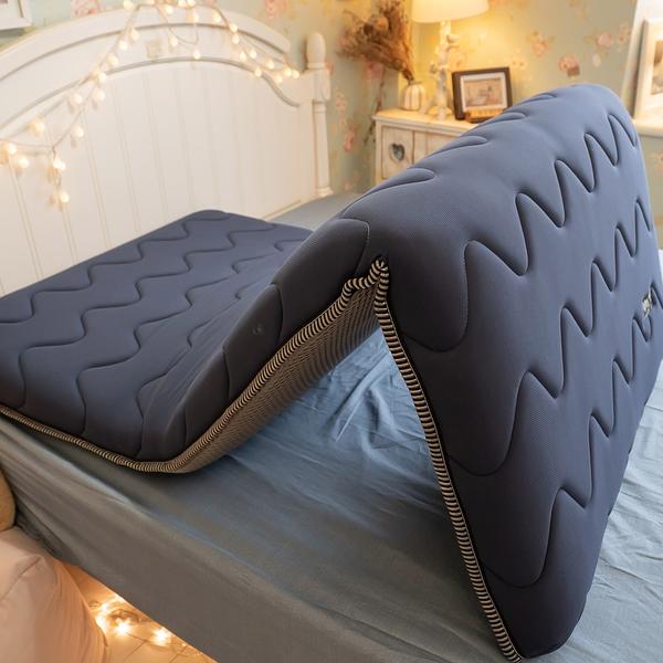 透氣網獨立筒記憶床墊(高度7cm)單人床墊 3尺X6.2尺 【外島無法配送】開學 單人折疊床墊