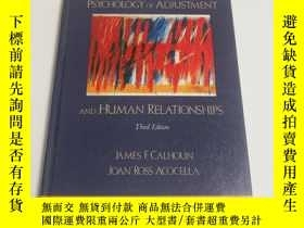 二手書博民逛書店PSYCHOLOGY罕見OF ADJUSTMENT AND HU