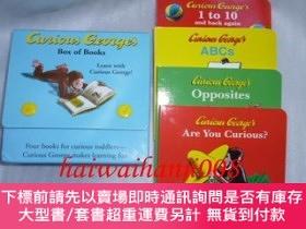 二手書博民逛書店英語罕見繪本おさるのジョージCurious George s Box of BooksBOX入り4冊洋書Y46