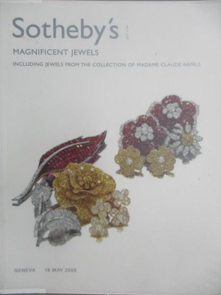 【書寶二手書T1/收藏_ZHU】Sotheby s_Magnificent Jewels_2006/5/18