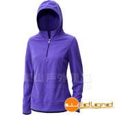 Wildland 荒野0A12503 53 紫色女遠紅外線PILE 保暖衣