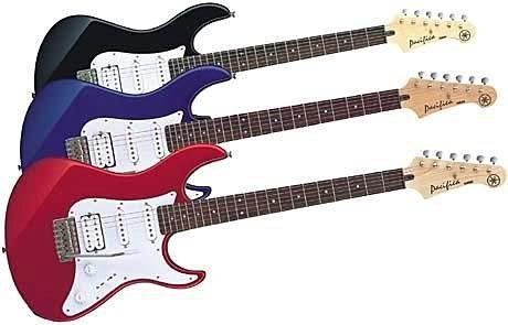 【金聲樂器廣場】全新 YAMAHA PAC 012 電吉他 ( 黑色 /藍色/紅色)