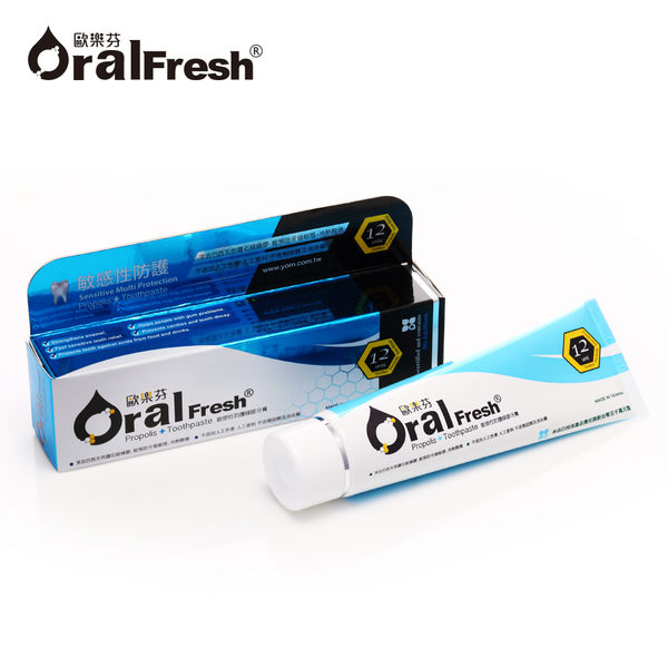 Oral Fresh 歐樂芬天然口腔保健液/漱口水600ml+敏感性防護蜂膠牙膏120g