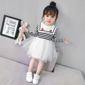新款春秋韓版童裝兒童公主裙小女童洋氣裙