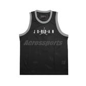 Nike 背心 Jordan Jumpman Sport DNA Tank 黑 白 男款 喬丹 運動休閒 【ACS】 CJ6152-010