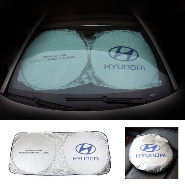 Hyundai 現在 ELANTRA Tucson土桑 Sonata IX35 汽車 遮陽擋 前擋風玻璃太陽擋 防曬 隔熱 全系通用 1片入