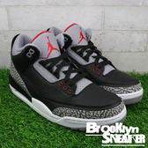 "NIKE  Air Jordan 3 Retro OG ""Black Cement""黑水泥 男 (布魯克林) 2018/2月 854262-001"