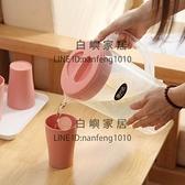 冷水壺大容量客廳塑料玻璃耐高溫家用涼白開水杯涼水瓶茶花壺套裝【白嶼家居】