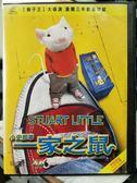 挖寶二手片-Y32-014-正版VCD-動畫【一家之鼠小史都華】-英語發音