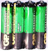 GP碳鋅電池綠色4號 4入