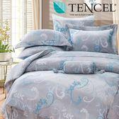 ✰特大 薄床包兩用被四件組✰ 100%純天絲《天脈》