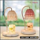 可調光浪漫歐式蠟燭暖燈 香薰融蠟燈 贈2...
