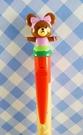 【震撼精品百貨】The bears school_上學熊~造型自動筆-紅黃