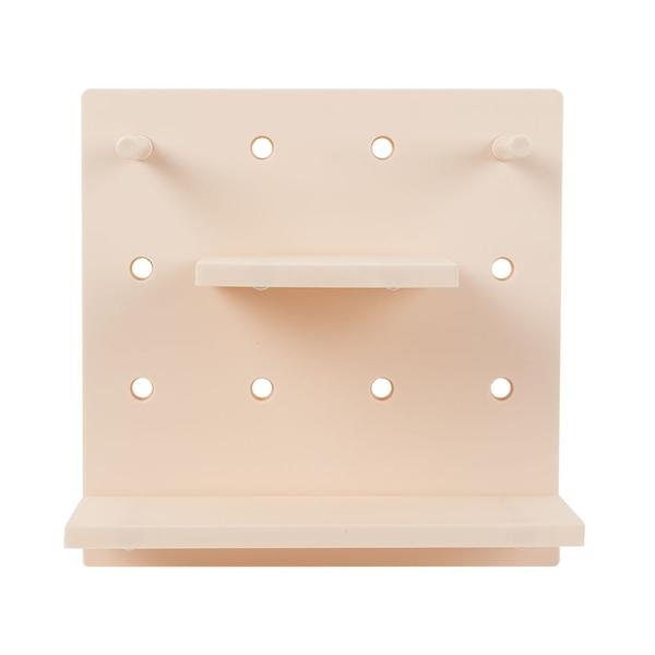 收納壁板 洞洞板-3色 買一送一 收納板 壁架 【A038】