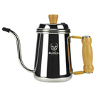 金時代書香咖啡 GABEE. 1425B細口壺 0.7L 鏡光  HA1660
