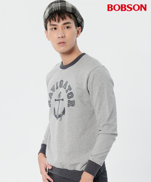 BOBSON 男款印圖上衣(37014-83)