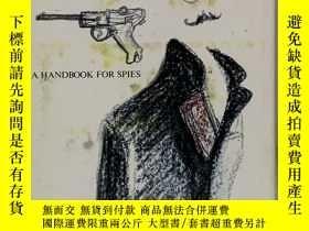 二手書博民逛書店間諜手冊罕見スパイのためのハンドブック A Handbook for Spies by Wolfgang Lotz