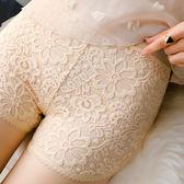 夏季蕾絲短褲女防走光安全褲韓版外穿保險褲