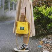 側背包大包包仙女包包女正韓潮文藝帆布包水桶百搭手提包單肩斜挎小包