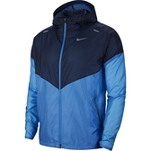 NIKE WINDRUNNER 男裝 外套 慢跑 訓練 休閒 反光 防潑水 口袋 藍【運動世界】CK6342-402