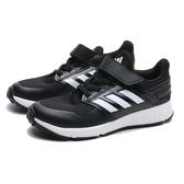 ADIDAS 休閒鞋 FORTAFAITO EL K 黑白 魔鬼氈 運動 童鞋 中童 (布魯克林) FX0940