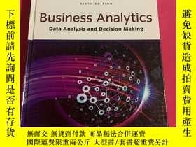 二手書博民逛書店Business罕見Analytics Data Analysis and Decision Making Six