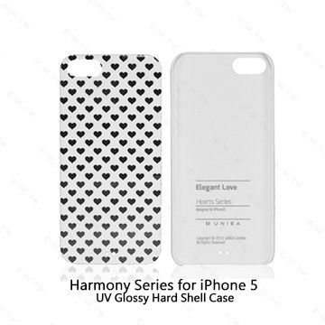 【東西商店】Uniea Hearts Series for iPhone 5/5s/SE 愛心系列保護殼