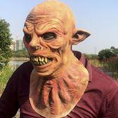 萬聖節cos恐怖外星人頭套面具仿真惡魔妖怪酒吧牛魔王乳膠惡棍 街頭布衣
