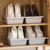 鞋櫃 家用3鞋位鞋架塑料日式間約收納盒