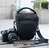 佳能相機包原裝單反三角包77D800D70D80D750D6D60D5D4攝影包 熊熊物語