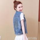 牛仔無袖馬甲外套女2020年夏季新款韓版寬鬆薄款坎肩女士馬夾外穿 依凡卡時尚