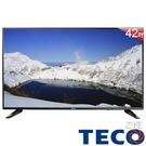 《促銷+送HDMI線》TECO東元 42吋TL42K1TRE Full HD低藍光液晶顯示器(贈數位電視接收器)