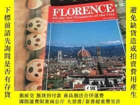 二手書博民逛書店florence罕見all the art treasures of the cityY352802 flor